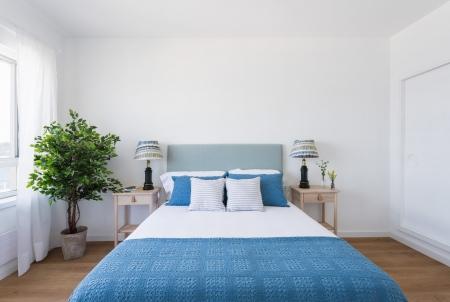 apartamento turistico, fotografía de interiores, dormitorio