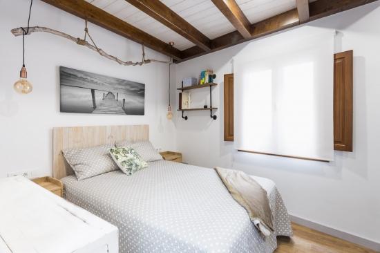 dormitorio, fotografía interiorismo, arela arquitectura, galicia