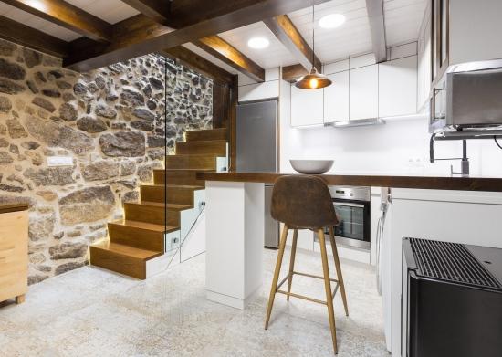 cocina, fotografía interiorismo, arela arquitectura, galicia