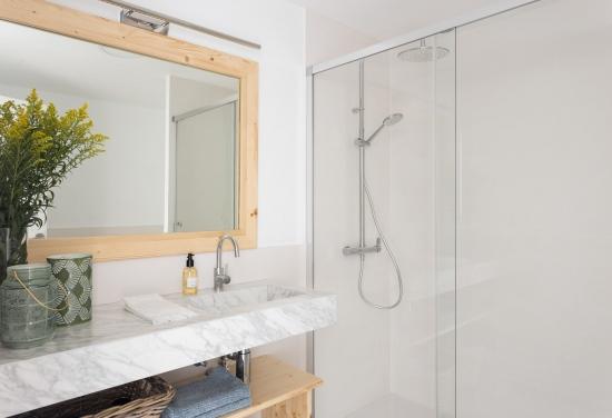 apartamento turistico, fotografía de interiores, baño
