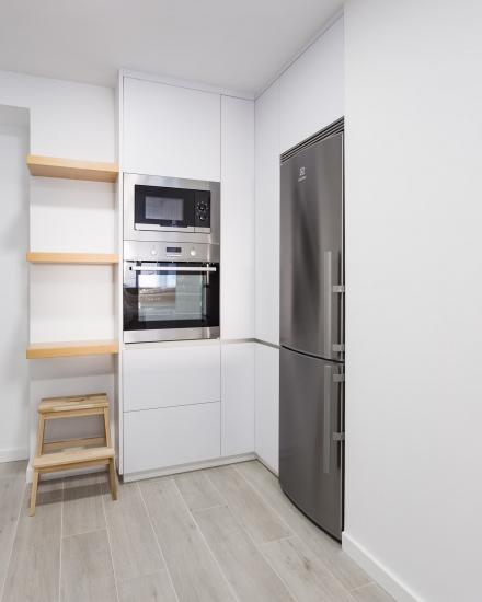 fotografía de interiores, cocina, arela arquitectura