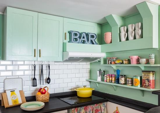 fotografía de interiores, decoración, abracadabra decor, cocina, airbnb