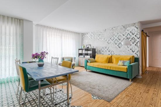 fotografía de interiores, decoración, alm construcciones, marina y javier, salón
