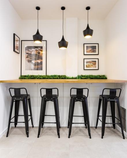 fotografia de interiores, pastelería, d'carlo, porriño, encaixe arquitectura