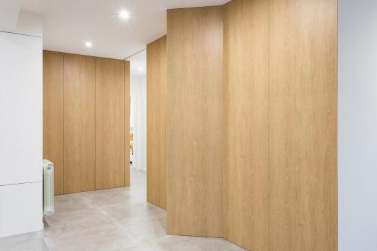 fotografia de interiores, reforma, distribuidor, encaixe arquitectura
