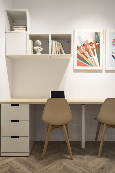 despacho, japandi, espacio concept, jose chas fotografia, interiorismo