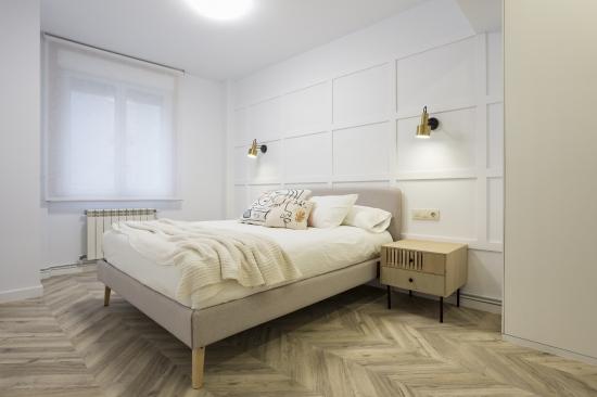 dormitorio principal, japandi, espacio concept, jose chas fotografia, interiorismo