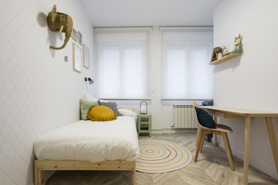 dormitorio infantil, japandi, espacio concept, jose chas fotografia, interiorismo