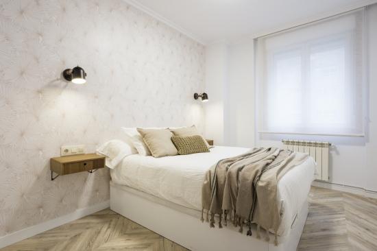 dormitorio invitados, japandi, espacio concept, jose chas fotografia, interiorismo