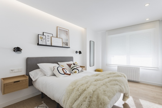 dormitorio, nórdico, espacio concept, jose chas fotografia, interiorismo