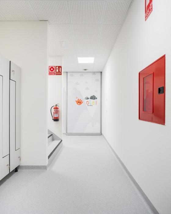 hospital, neonatos, desarrola constructora, fotografía de interiores
