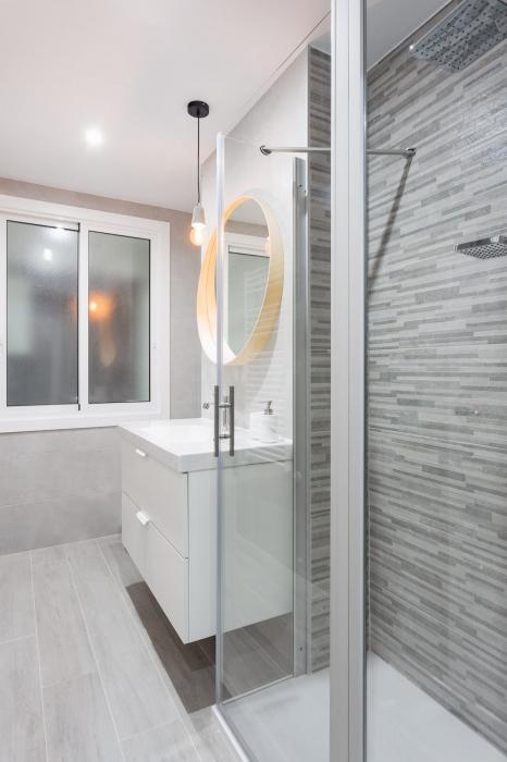 fotografía de interiores, baño, arela arquitectura