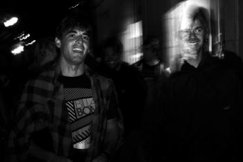 Hodei Collazo y Didier Piter. San Sebastian. País Vasco