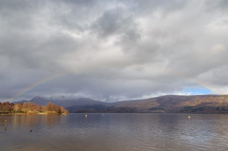 Loch Lomond Rainbow