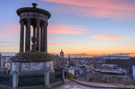 Calton Hill. Edinburgh