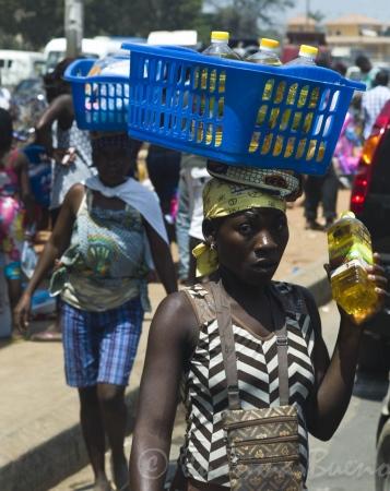 Mercado de los Congoleses (Luanda,Angola)