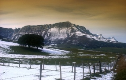 report: Orduña (Bizkaia) - Title: Winter Mountain Saved (Sierra Salvada)