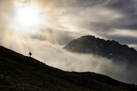 caminando entre las nubes