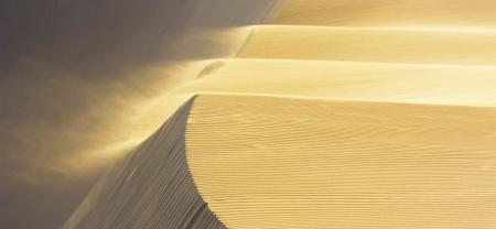 Cascada de arena, Perú.