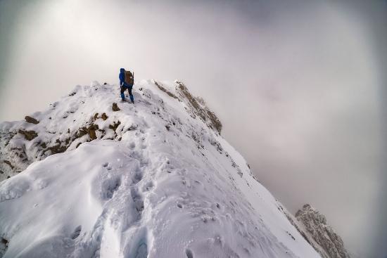 Hacia la cima, Tendeñera.