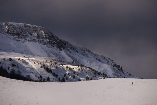 Caminante, Pirineos.