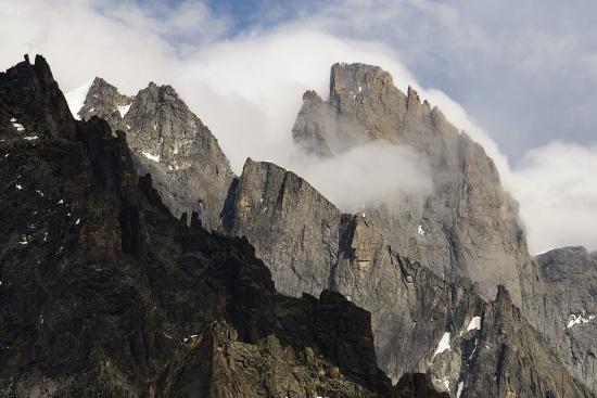 Crestas de roca