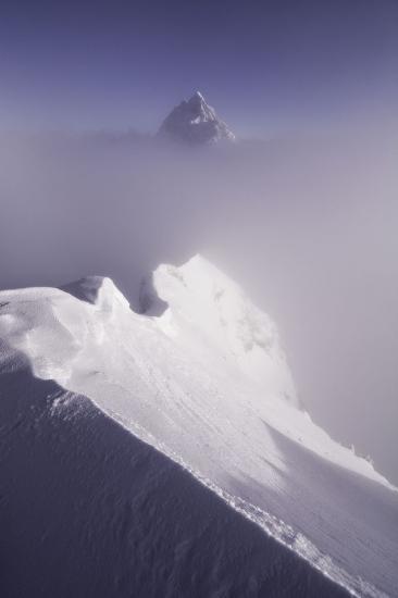 La cima celeste, Alpes.