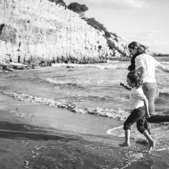 Fotografia familiar a la platja-Barcelona-Mireia Navarro Fotografia