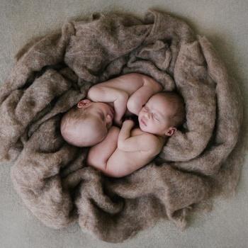 Fotografía newborn gemelos recién nacidos en Barcelona-Mireia Navarro Fotografía
