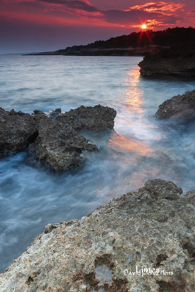 Atardecer en L'Ametlla, Tarragona. - Costa Mediterránea - Limes , David Pérez Hens