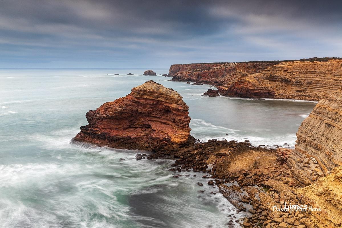 atardecer en la costa 2 - Portugal. - Limes , David Pérez Hens