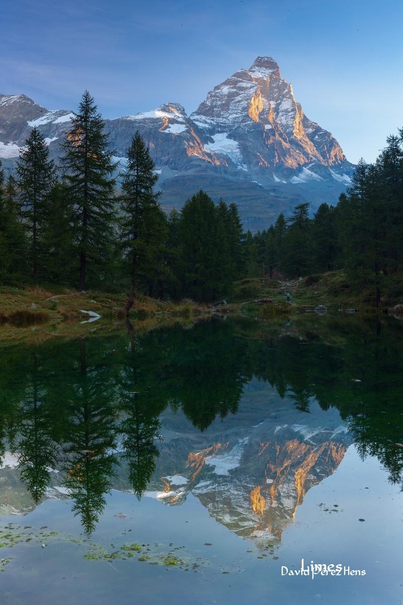 Cervino desde Italia - Alpes - Limes , David Pérez Hens
