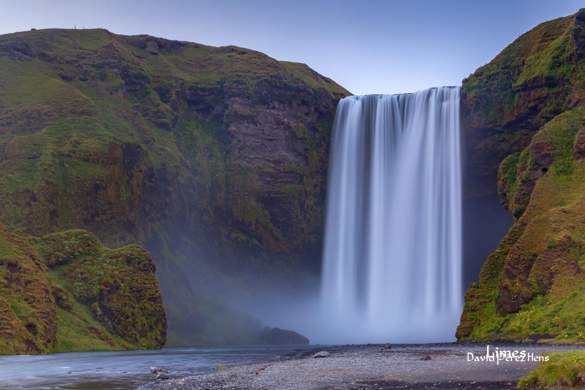 Skogafoss - Islandia. - Limes , David Pérez Hens