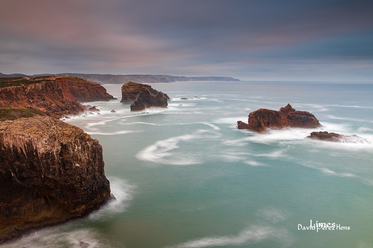 atardecer en la costa 4 - Portugal. - Limes , David Pérez Hens