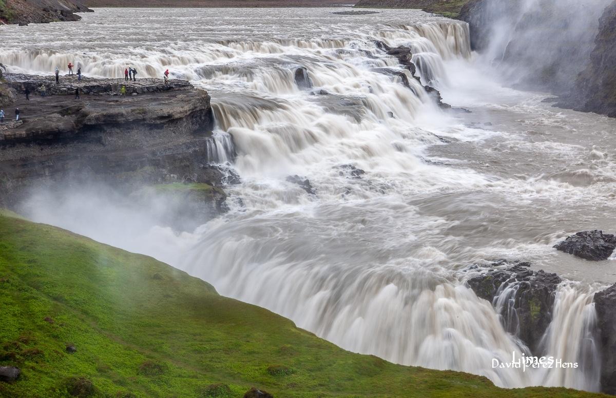 Gullfoss - Islandia. - Limes , David Pérez Hens