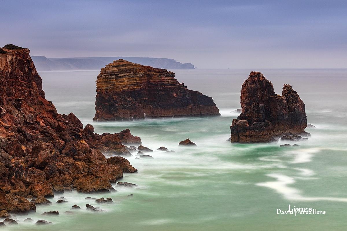 atardecer en la costa 5 - Portugal. - Limes , David Pérez Hens