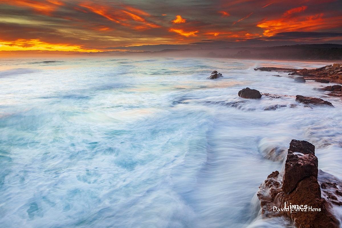Playa larga, temporal 2010. - Costa Mediterránea - Limes , David Pérez Hens