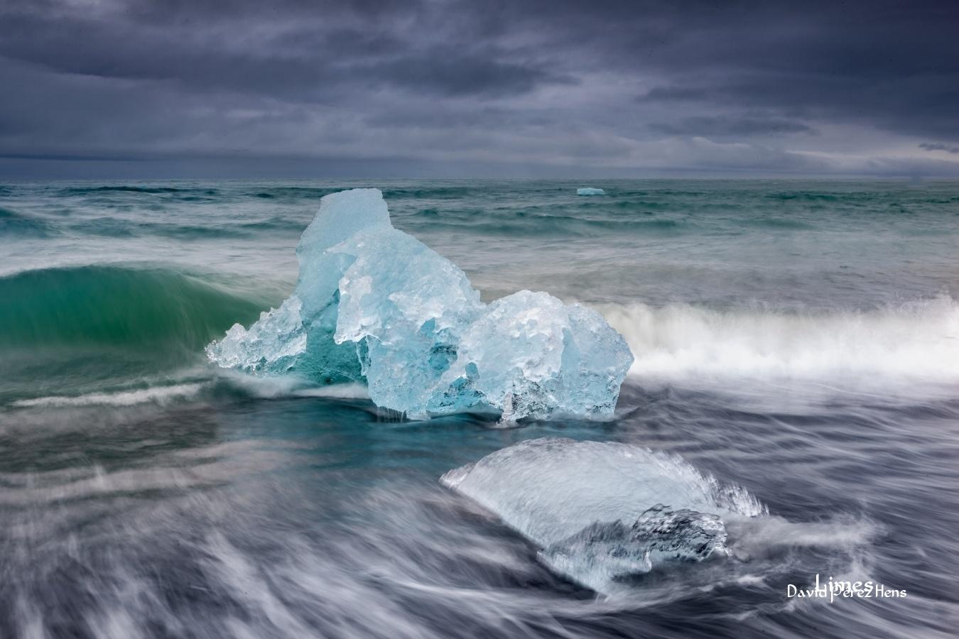 Playas con hielo - Islandia. - Limes , David Pérez Hens