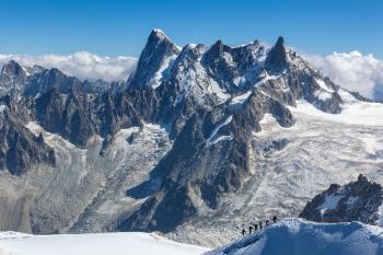 Actividad en la montaña