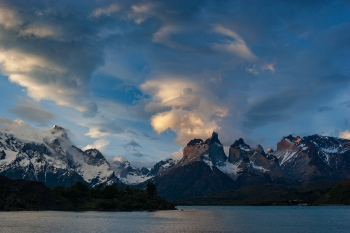 Atardecer Torres del Paine