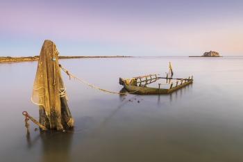 Atardecer, Delta del Ebro