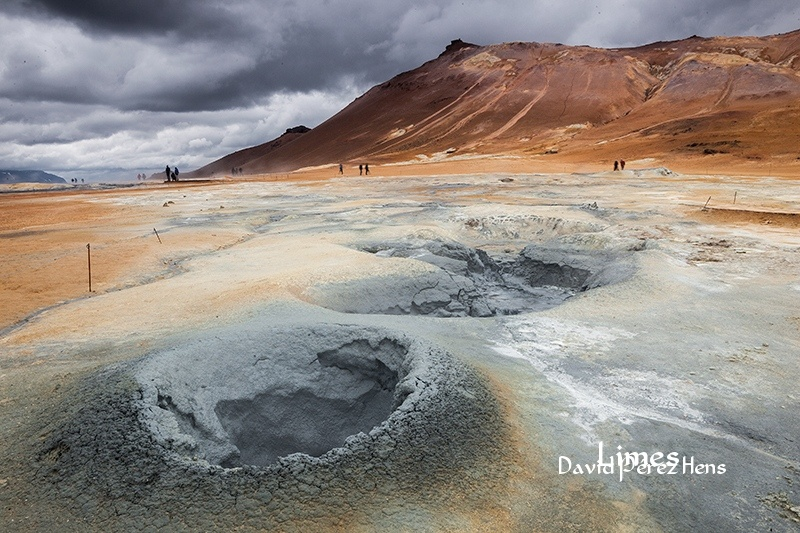 Hverir.Imagen David Pérez Hens - Islandia. - Limes , David Pérez Hens