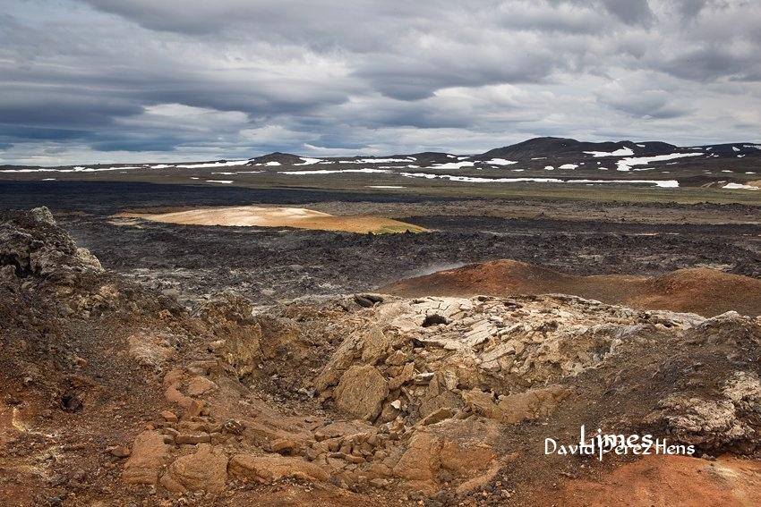 Campos de lava, Krafla. Imagen David Pérez Hens - Islandia. - Limes , David Pérez Hens
