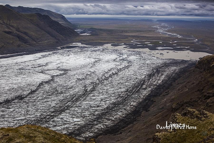 Brazo glaciar, Skaftafell. Imagen David Pérez Hens - Islandia. - Limes , David Pérez Hens