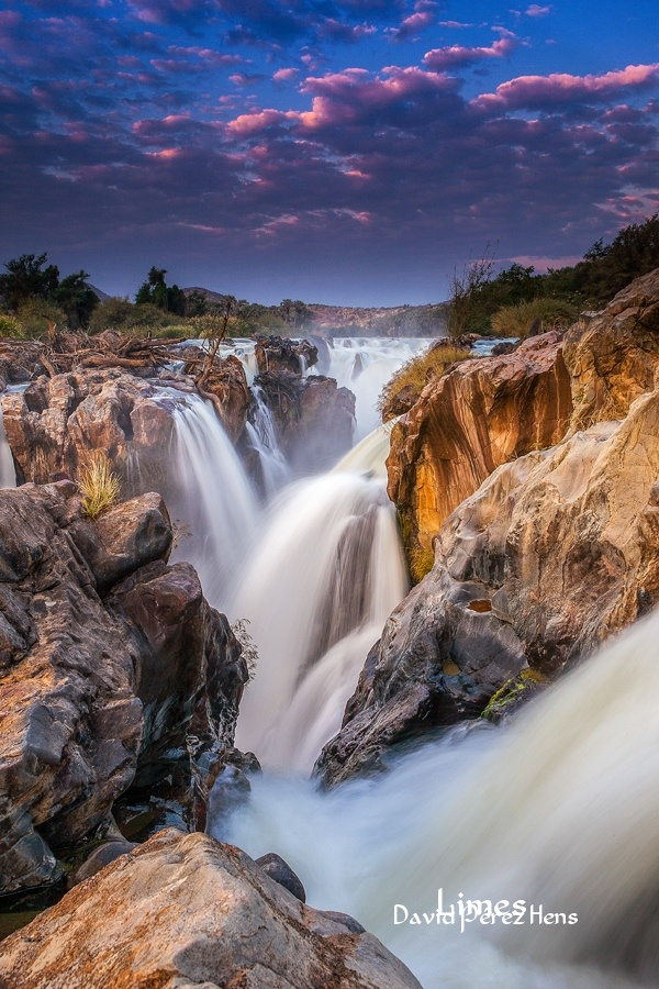 Cataratas Epupa, Namibia - Sudáfrica-Namibia-Botsuana-Zimbabwe - Limes , David Pérez Hens