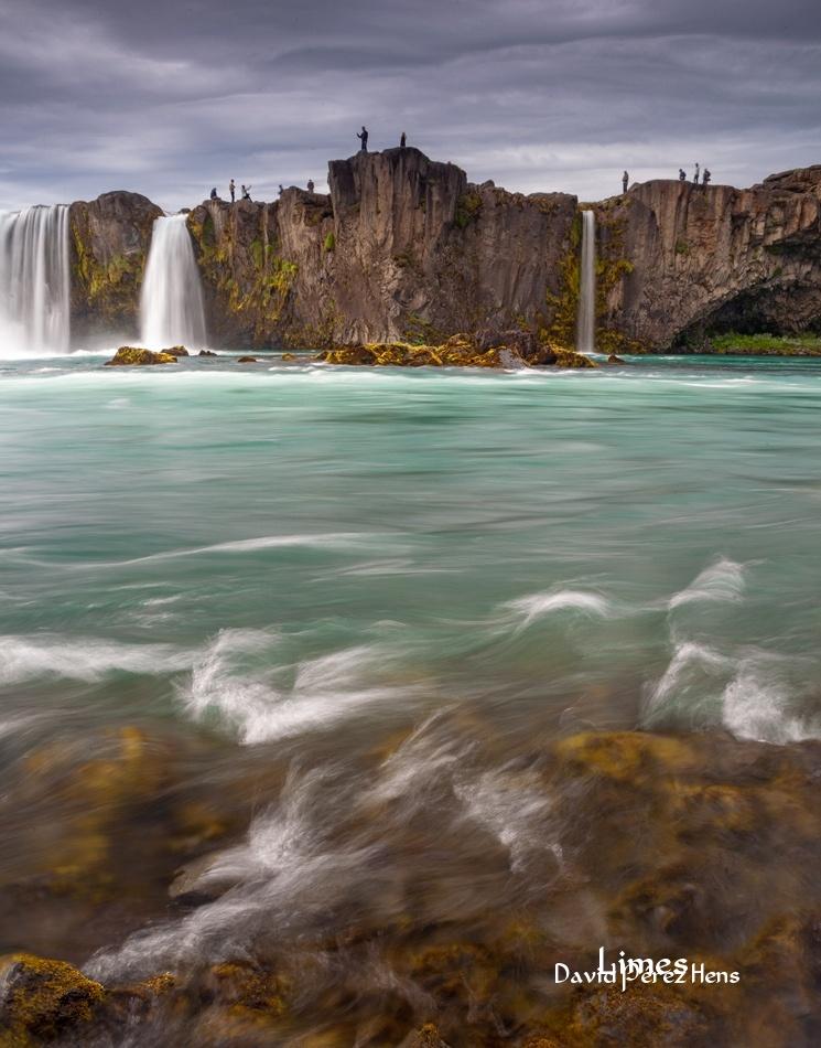 Godafoss - Islandia. - Limes , David Pérez Hens