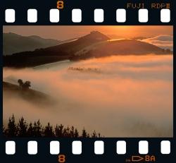 Endoia at dawn.