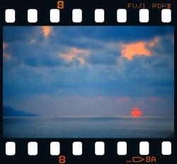 Sunset in Itzurun - Zumaia.