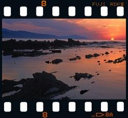 Sunset in Sakoneta - Deba.