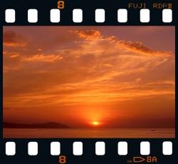 Sunset from Algorri - Zumaia.